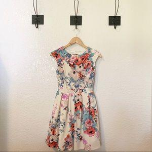 Emerald Sundae || Floral Dress